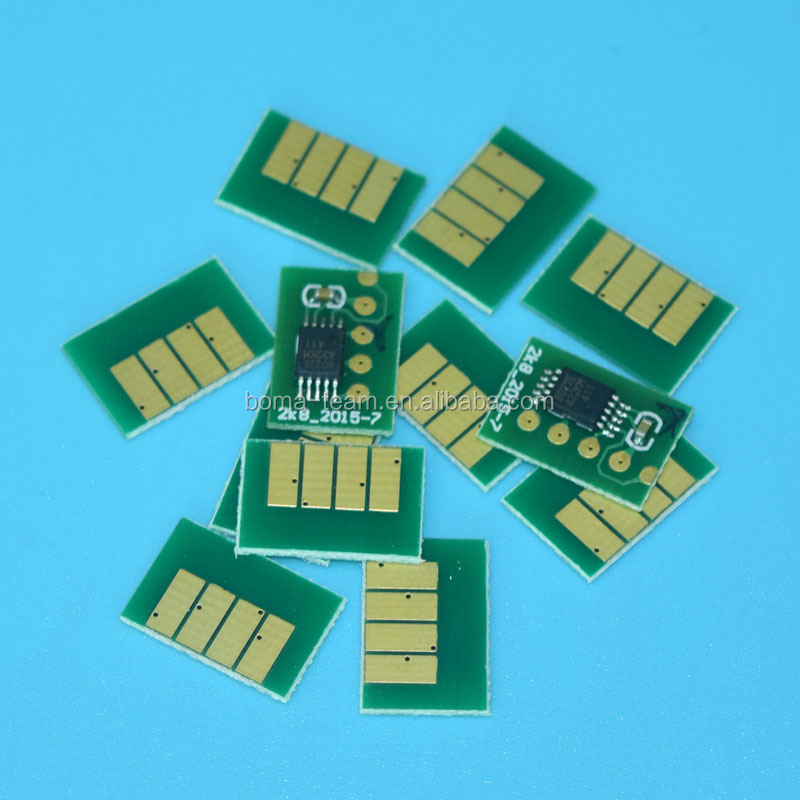12 colors CN629a-CN636a cartridge Auto reset chip for hp designjet z5200 z5200ps for hp 70
