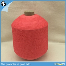 Polyester twisted cotton blended dyed yarn