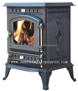 cast iron fireplace/stove