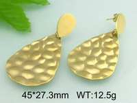 Elegant Victorian Jewelry New Design Gold Plated Hanging Earrings