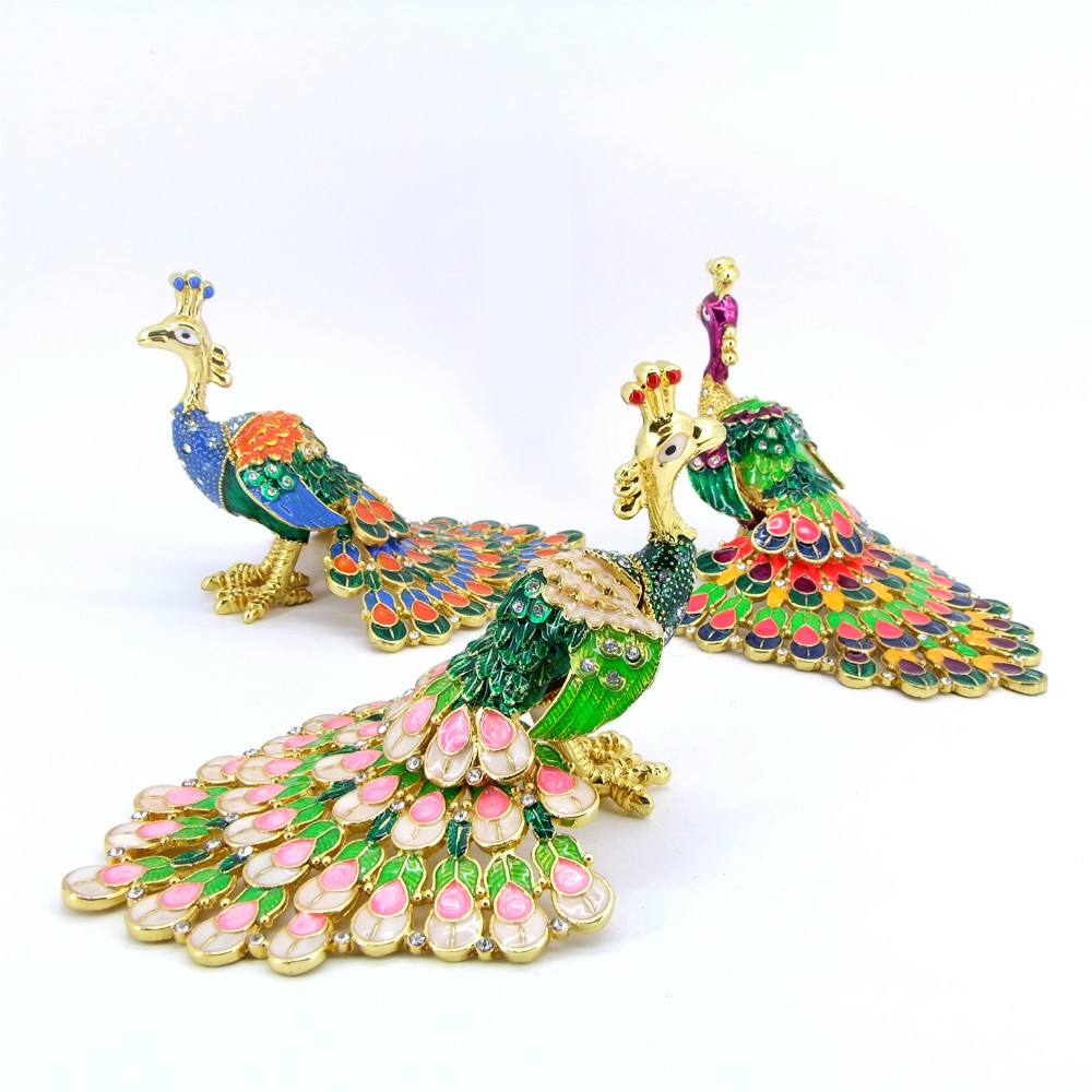 China Wholesale Metal Peacock Wedding Souvenir