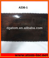 Shining pvc thin rubber foam sheet supplier colored shoe repairing sole sheet from Atom Shoes Material Limited