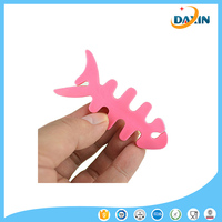 Colorful Silicone Fish Bone Earphone Line Cord Cable Winder Cord Wrap Holder