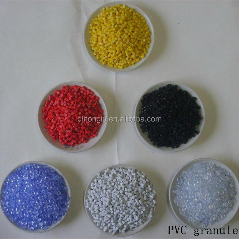 Soft Material PVC Granules Shore A 65 for Shoe solea Grade