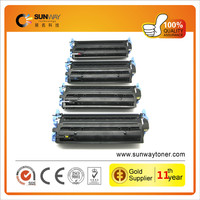 High Quality Series Premium Compatile Laser Color Toner Cartridge Q6000A Q6001A Q6002A Q6003A for HP LaserJet 1600 2600N