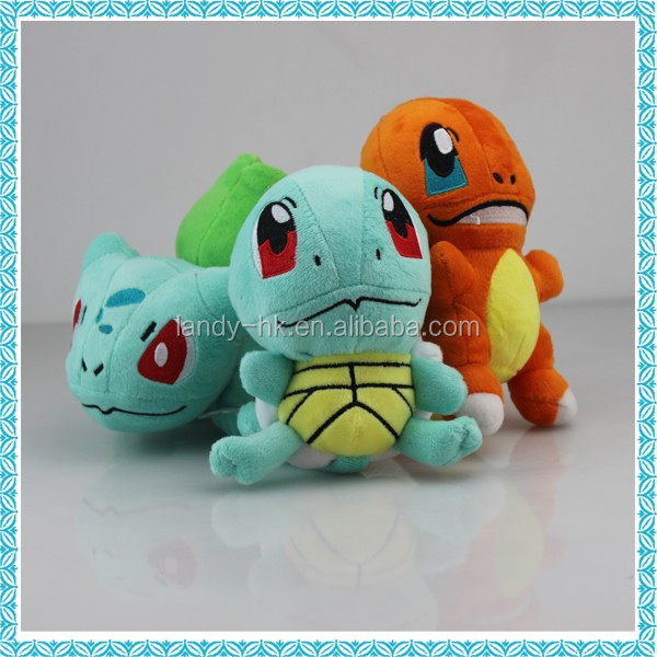 wholesale pokemon plush stuffy toys with small MOQ