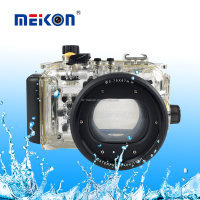 Shenzhen factory price 40M Waterproof case Meikon Underwater camera Waterproof Accessories for Canon S120