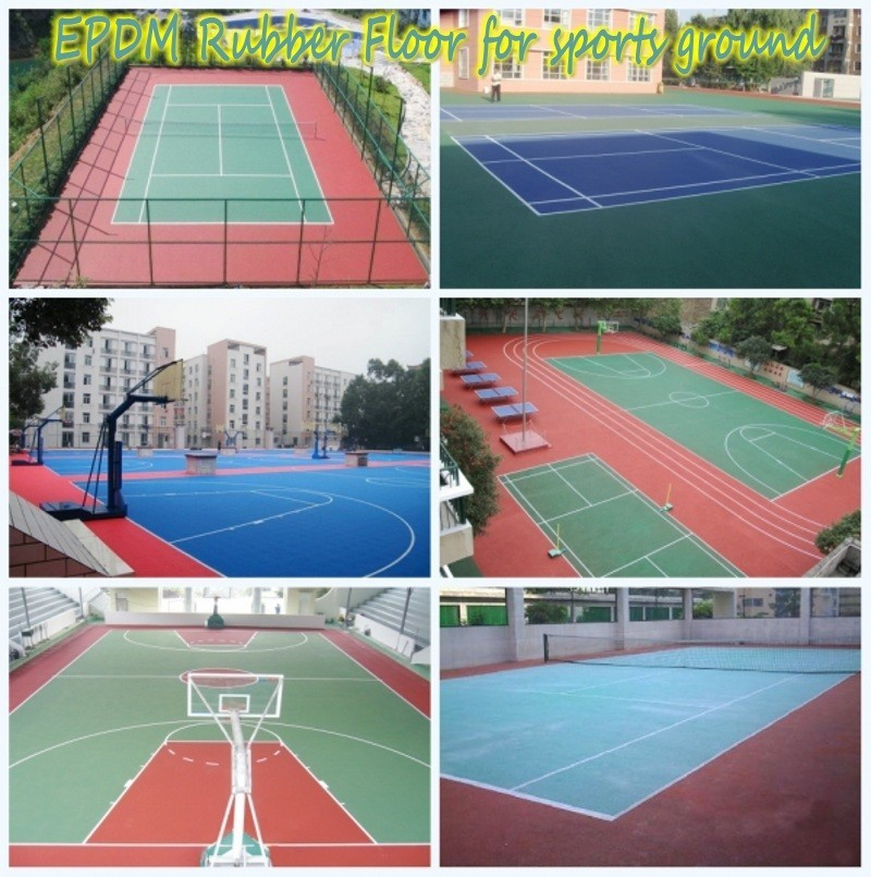 Polyurethane binder for Colored EPDM Rubber granules and sports playground-FN-J-16011802