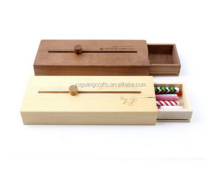 classical design wooden pencil box,wholesale wooden pencil case