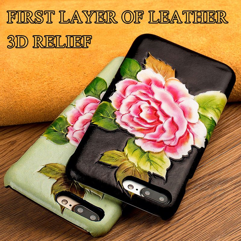 Manufacturer of custom 3 d texture of back cover for Blackberry bold 9900 phone genuine leather case