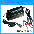 14.6V 4S 10A LiFePO4 Battery Charger with Aligator Clips for 12.8V 4 cells Lifepo4 battery pack