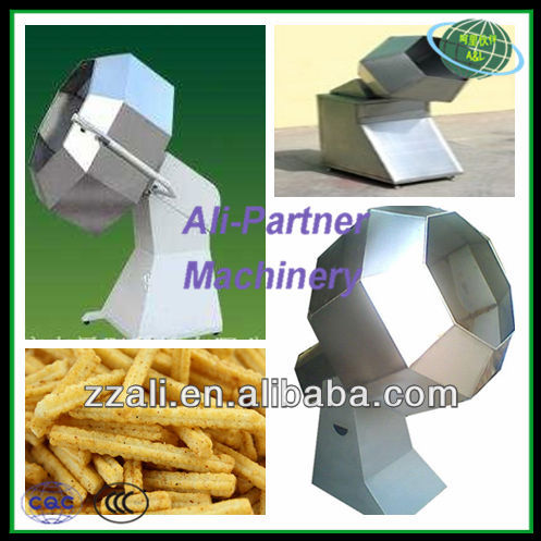 Low price automatic seasoning snack machine