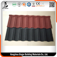 SGB Hangzhou Innovative Stone Coated Roofing Sheet Supplies Metal Roof