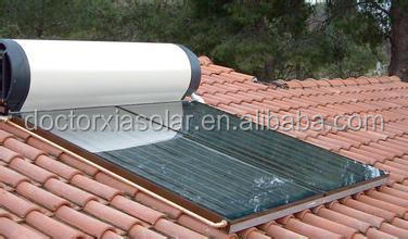 Roof Mounted Solar Water Heater System