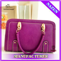 Alibaba trendy fashion leather best handbag for women wholesale at factory price