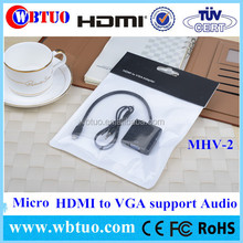 Shenzhen Factory Micro HDMI vga rca with audio