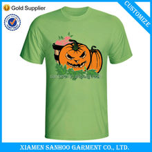 Wholesale New Design DIY Coton Printing Tshirts For Halloween