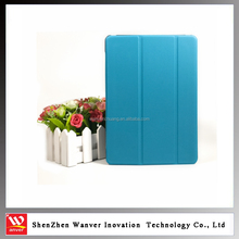 fashionable design PU+PC Material foldable soft easy carrying tablet case accessory cover for For Ipad 2/3/4