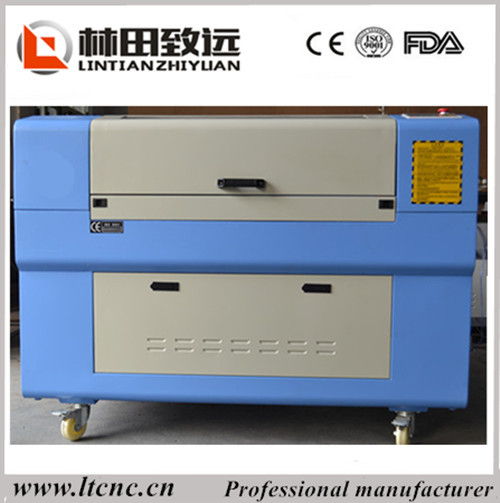6040 small Laser Engraving And Cutting Machine for leather cloth