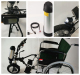 Hot Sell CE Approved Electric Wheelchair Motor 12Incline Ramp Wheels