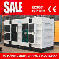 AC Three Phase Output Type 400kw silent diesel generator lowest price