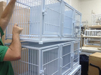 EMS-PT101 Iron Pet Cage with white painting