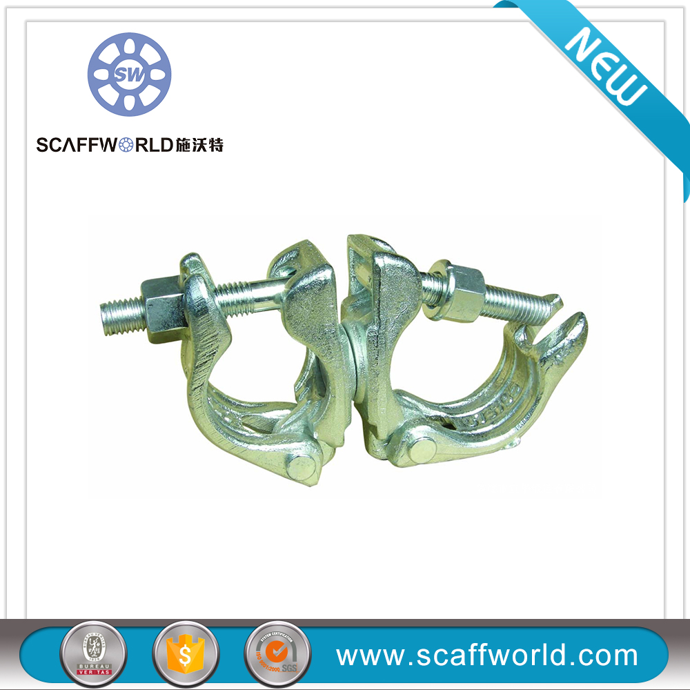 German drop forged swivel coupler / double coupler / swivel coupler