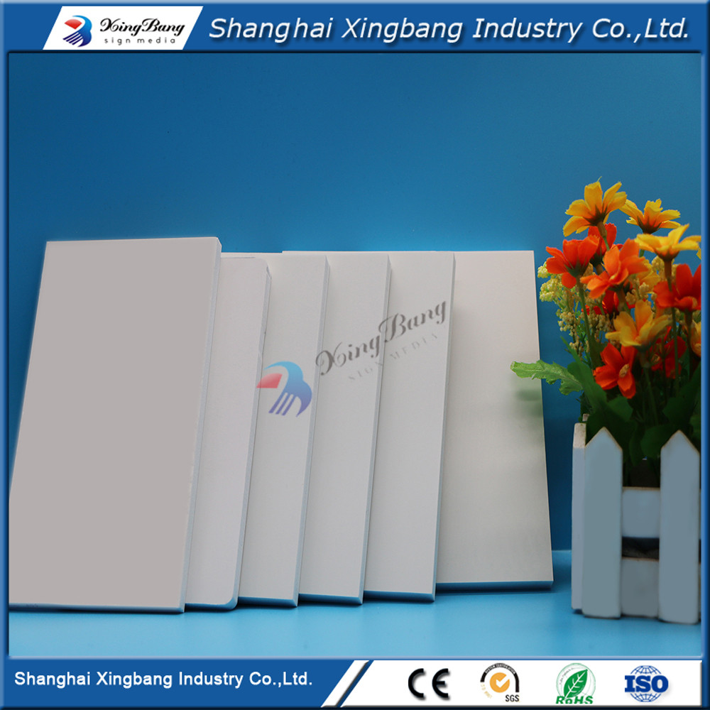 PVC foam board 4x8 plastic sheets pvc sheets white customized size
