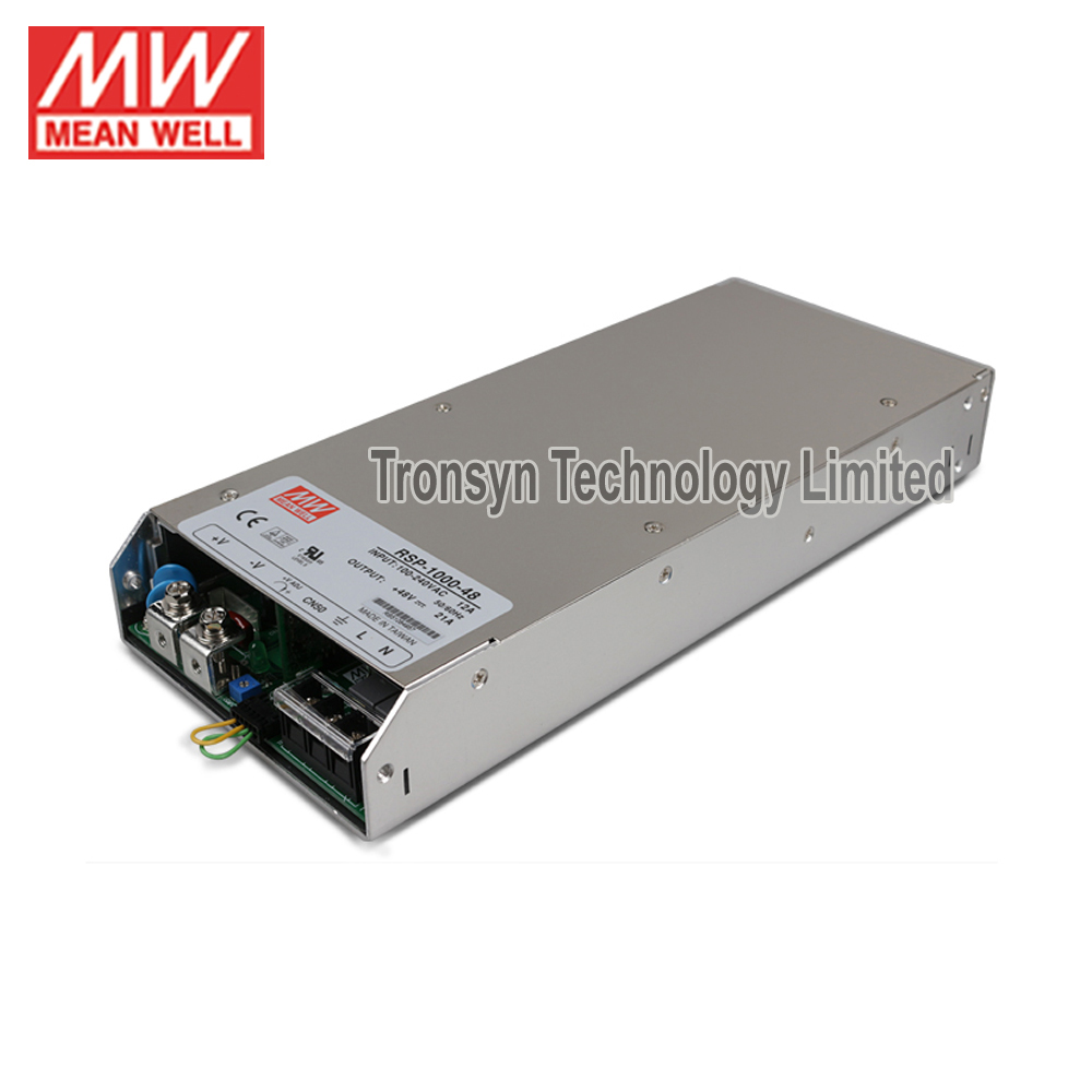Single Output Parallel 1000W 48V Switching Power Supply Meanwell RSP <strong>1000</strong> 48