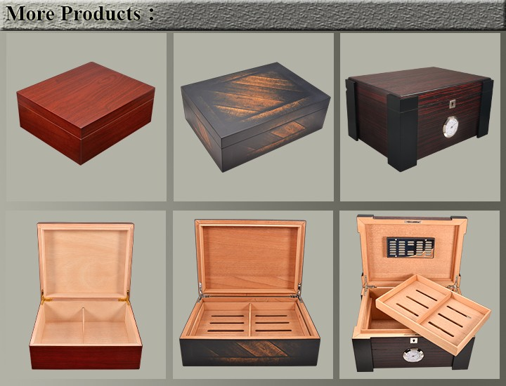 Humidor-more products