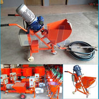 Can customized color as needs most favorabled portable putty spraying machine