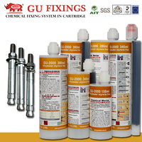 agent safety adhesive bolt based resin