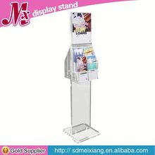 lucite display stand MX3398 acrylic mobile phone accessories display stand