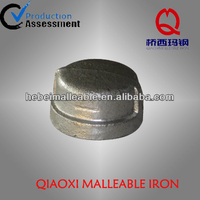 End cap plumbing fittings Malleable Iron pipe Fittings Cap