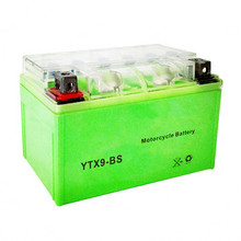 Dry cell motorcycle battery 12V 4ah motorcycle battery 12N4