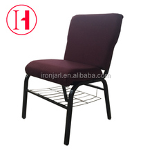 Interlocking Morden Stackable Big Seat Pulpit Church Chair