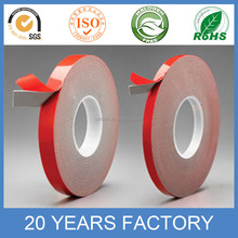 Customized Thickness VHB double sided pressure sensitive acrylic foam tape
