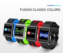 Fashion Colorful Activity Tracker Watch K88 Fitness Tracker with Heart Rate Monitor for Mobile Smart Phone