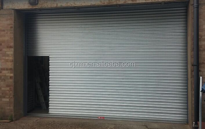 Colorful and Strong roller shutter Industrial Fire Rated Steel Windproof Roll Up Door