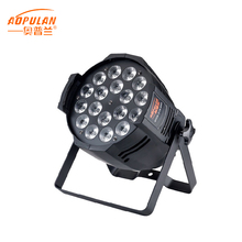 Hot sale Zoom stage light led par 18 rgbwa uv 6in1 stage spotlights