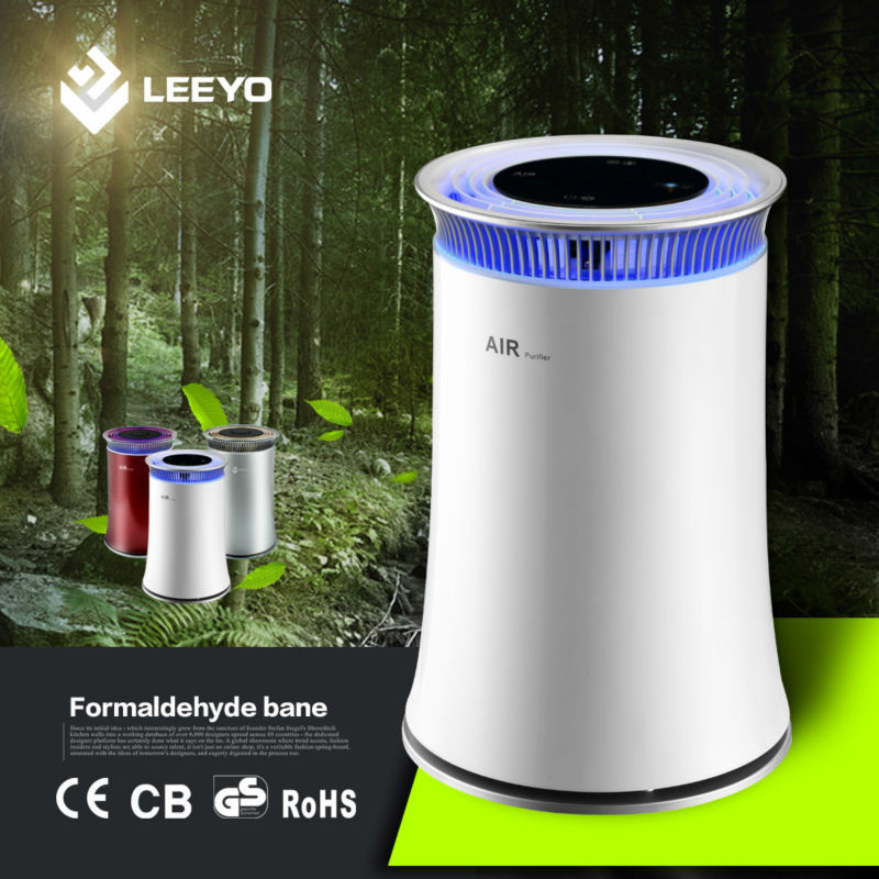 Negative oxygen ion air purifier for smoking room