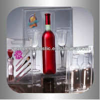 blister cosmetic packaging, blister pack for wine bottle