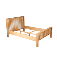 New fasion wooden double bed design furniture for European