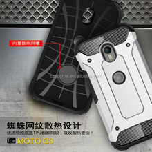 For Motorola Moto G3 Combo Armor Impact Heavy Duty Rugged Hybrid Hard Case