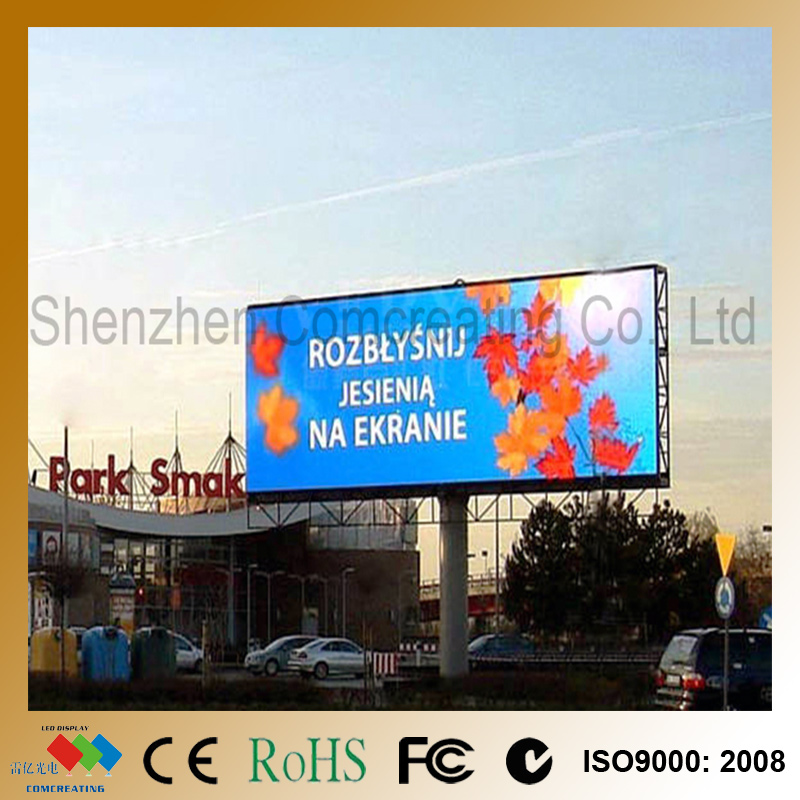 Customized Full Color LED Video Board HD P6 SMD Electronic Outdoor Advertising LED Display Screen