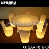 illuminated Banquet and DINNING TABLE