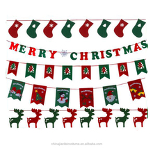 Promotion Festival Decorations Wholesale Letter Banners Christmas Party Banners