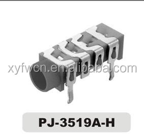 pj-3519A-H audio jack 3.5 mm