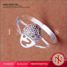 christmas hot sale hot gifts ring jewelry ,very cheap gift items LKNSPCR181