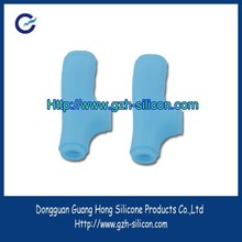 Customized silicone walking stick protect handle covers made in Guangdong